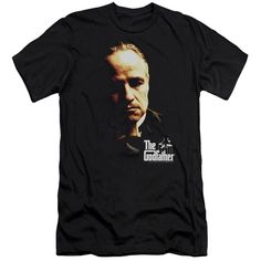 Godfather/Don Vito Short Sleeve Adult T-Shirt 30/1 in