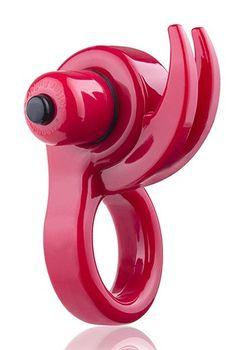 ORNY VIBE de SCREAMING O es una anilla vibradora innovadora que combina vibraciones potentes para el pene y los testículos y una estimulación de clitoris con los cuernos flexibles. Es un juguete perfecto para pareja.
