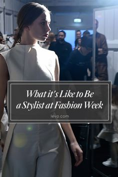 Behind the scenes at #NYFW with Marylle Koken, an International Stylist with Sebastian Professional and the owner of the Harlot Salon in Venice Beach, CA. www.levo.com