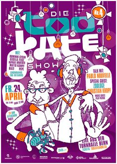 Too Late Show No.4 (Live Late Night Show Poster)