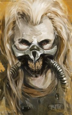"digcta: "" Immortan Joe by Diogo-Costa Another study from Mad Max. """
