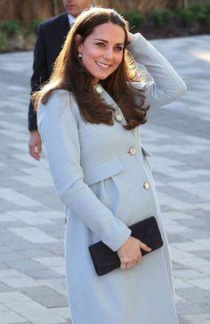 Encore du bleu pour la duchesse