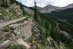 Road to Alpine Tunnel