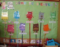 Plastificando ilusiones: ¡¡El monstruo de Colores ha vuelto!! Tot School, Back To School, Preschool Spanish, Kindergarten, Dual Language Classroom, Behavior Interventions, Emotion, Teaching Activities, Hygiene