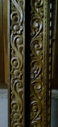 Bavas Wood Works Pooja Room Door Frame And Door Designs: Pin By Juzerfancy On @doordesignartcam +918421146457