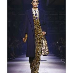 Leopard Prints Rule Dries Van Noten's Fall 2016 Collection - Vogue