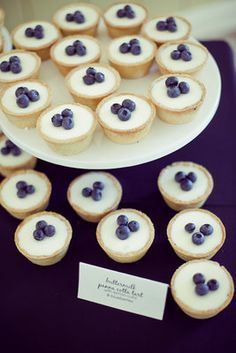 Panna cotta tarts (Photo by Orange Turtle Photography)