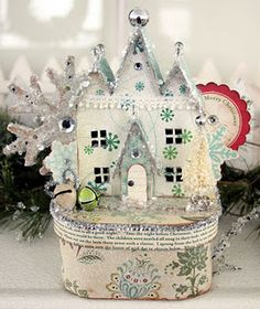 123 links for paper house templates, tuts etc!