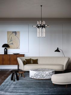 Home decor styles - Beautiful Interiors That Combine An Old Warsaw Mood With Contemporary Style – Home decor styles Contemporary Interior Design, Home Interior Design, Interior Architecture, Contemporary Style, Interior Modern, Contemporary Apartment, Modern Furniture, Business Furniture, Classic Interior