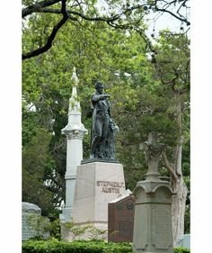 10 Hauntingly Beautiful Cemeteries to Visit Before Halloween | Texas State Cemetery, Austin, TX