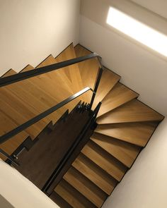 Staircase Interior Design, Home Stairs Design, Home Design Plans, Home Interior Design, Cottage Stairs, House Stairs, Building Stairs, Staircase Makeover, My House Plans