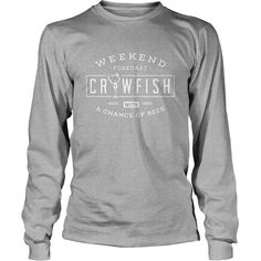Crawfish T Shirt Weekend Forecast Cajun Boil and Beer Tee, Order HERE ==> https://www.sunfrog.com/Holidays/114157839-435997538.html?49095, Please tag & share with your friends who would love it, #redhead girl, #redhead humour thoughts, redhead humour lol #travel, #running, #swimming  redhead quotes relationships, redhead quotes red hair, redhead quotes crazy  #animals #goat #sheep #dogs #cats #elephant #turtle #pets