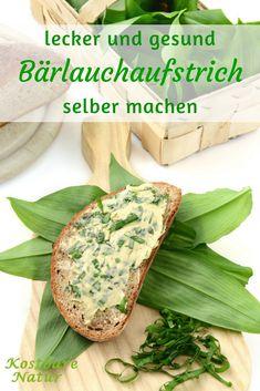 Mit diesem Bärlauchaufstrich bringst du Abwechslung aufs Brot und startest gesund in den Frühling.