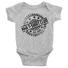 MMA T-Shirt Club - Infant short sleeve one-piece