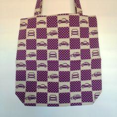 Purple Cars Purple Cars, Shopping Bags, Fabulous Fabrics, Louis Vuitton Damier, Sewing, Pattern, Collection, Fashion, Moda