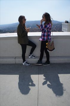 new arrival b59e1 93038 D   I at the Griffith Observatory, LA in our Nike Dunk Sky Hi s