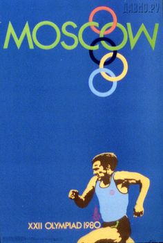 Olympics 1980 Moscow posters