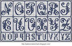 Free Easy Cross, Pattern Maker, PCStitch Charts + Free Historic Old Pattern Books: Sajou No 171