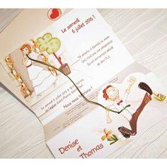 Alma Funny Wedding Invitation