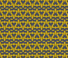crown_and_flower fabric by holli_zollinger on Spoonflower - custom fabric