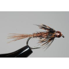 This Bead Head Pheasant Tail Nymph is very effective on the mountain trout streams in the Shenandoah National Park.