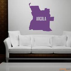 """Wandtattoo """"Angola"""" - 9,95€"""