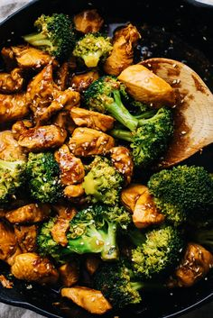 Quick & easy 10-minute Teriyaki Chicken & Broccoli. Juicy chicken in a homemade teriyaki sauce - SO yummy and perfect for takeout at home. An easy dinner recipe that is healthy, low carb, and delicious. Make for busier week nights or as meal prep to enjoy throughout your week! | asimplepalate.com #chicken #dinner