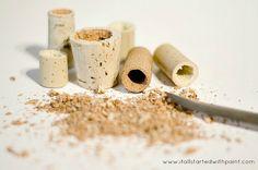 Mini-Macetas con imán para la nevera. Atrévete a hacer este experimento en tu casa con plantas craseas, así las podrás tener la nevera con un look diferente