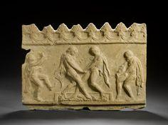 A Roman terracotta 'Campana' relief Circa Century B. Ancient Rome, Ancient Art, Ancient History, Roman Artifacts, Anno Domini, Terracota, 1st Century, Roman Empire, Diaries