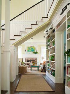 moderne treppe holz design geländer glas wohnzimmer | einrichtung, Wohnzimmer