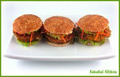Kahakai Kitchen: Lentil Veggie Burger Sliders: A Little Bite of Mark Bittman