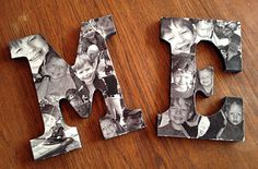 diy collage letters