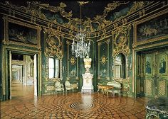 The Green Lacquered Room, The Residenz, Wurzburg, Germany