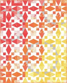 Quilt Pattern is Sunrise Designer: Vanessa Christenson Collection: Simply Colorful Fabric  Quilt is 48 x 60 inches  Kit includes pattern, precuts and yardage for the quilt top (does not include binding or backing) -Includes pattern  More Quilt Kits: https://www.etsy.com/shop/FabricFlyShop/search?search_query=quilt+kit&order=date_desc&view_type=list&ref=shop_search  *****PLEASE NOTE***** We do our best to keep our listings as accurate as possible, sometimes due to manufacturer shortages or…