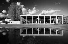 Woodland Crematorium Portico by h ssan, via Flickr