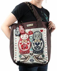 Loungefly Matroschka Nesting Dolls Tote Bag