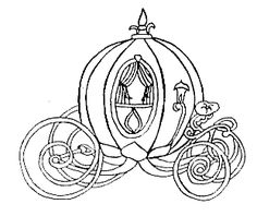 santa horse buggy coloring pages - photo#33