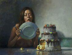 Dave Lebow - Oil on canvas