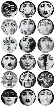 """Fornasetti - as mentioned - NOT strictly speaking """"contemporary"""" but I've bent…"""