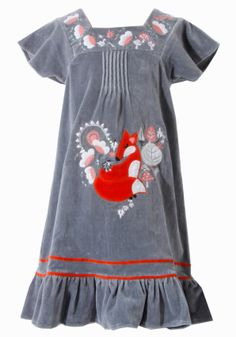 Velvet Fox Dress uttam kids