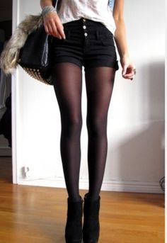 I like this look....with some boots or booties...fall fashion!