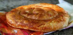 Σκοπελίτικη τυρόπιτα | athensgo Turkish Recipes, Greek Recipes, New Recipes, Cooking Recipes, Favorite Recipes, Greek Pastries, Savory Muffins, Greek Cooking, Group Meals