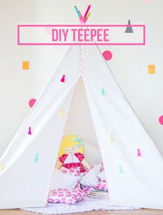 Simply Earnest: Make Your Own Teepee