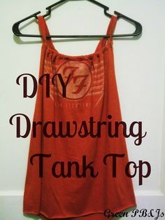 Green PBnJs: A DIY Tank Top. I just made this! Its awesome its a great nursing tank