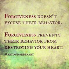 Wanted to share five tips on forgiving I stumbled upon today! 5 Tips for Forgiving: 1. Don't deny that you've been hurt. Forgiving isn't denying. 2. Make a decision to forgive others. (Luke 17:3-5) 3. Don't seek revenge or repay evil for evil. (1 Peter 3:9) 4. Pray God will release any anger inside you. (Ephesians 4:26-31) 5. Pray for those who have hurt you. (Matthew 5:44) To be in relationship, whether romantic, family, it friend, requires us to challenge ourselves to habitually forgive…