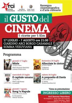 Il Gusto del Cinema - 5 ricette per 5 film