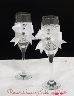 Poročni kozarci - wedding glasses