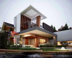 House Plans: Modern Residences Exterior House and Villas Design Ideas