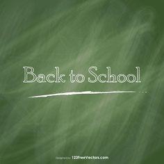 Chalkboard Vector Vector Free Download, Free Vector Art, Vector Graphics, Chalkboard Vector, Chalkboard Background, Vector Background, Art Images, Back To School, Clip Art