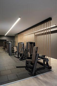 Home Gym Garage, Gym Room At Home, Home Gym Decor, Gym Center, Dream Gym, Hotel Gym, Barber Shop Decor, Gym Interior, Home Gym Design
